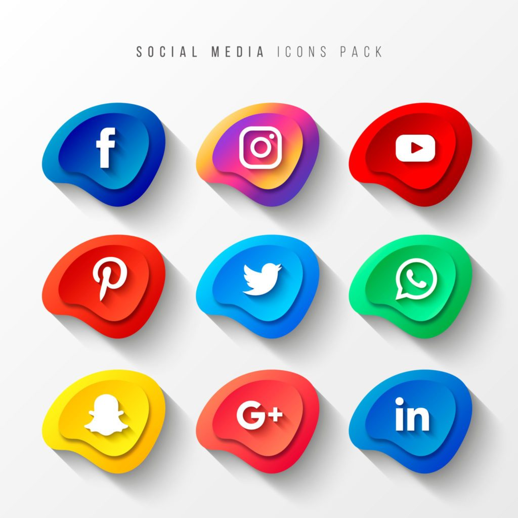 Psicología del color en marketing aplicada a los logotipos de las principales redes sociales