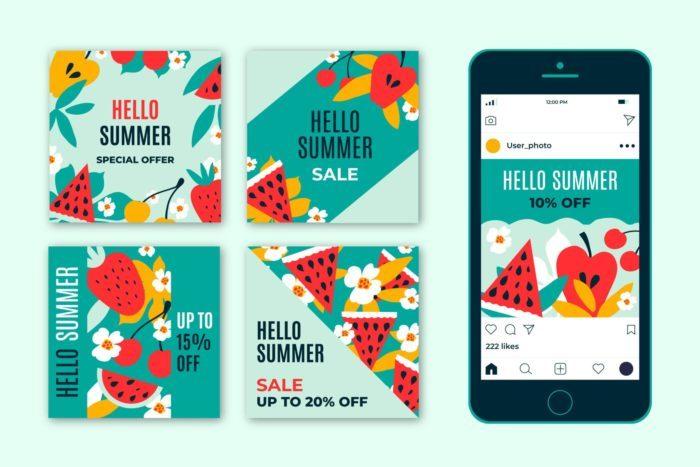 Ideas de contenido en Redes Sociales verano