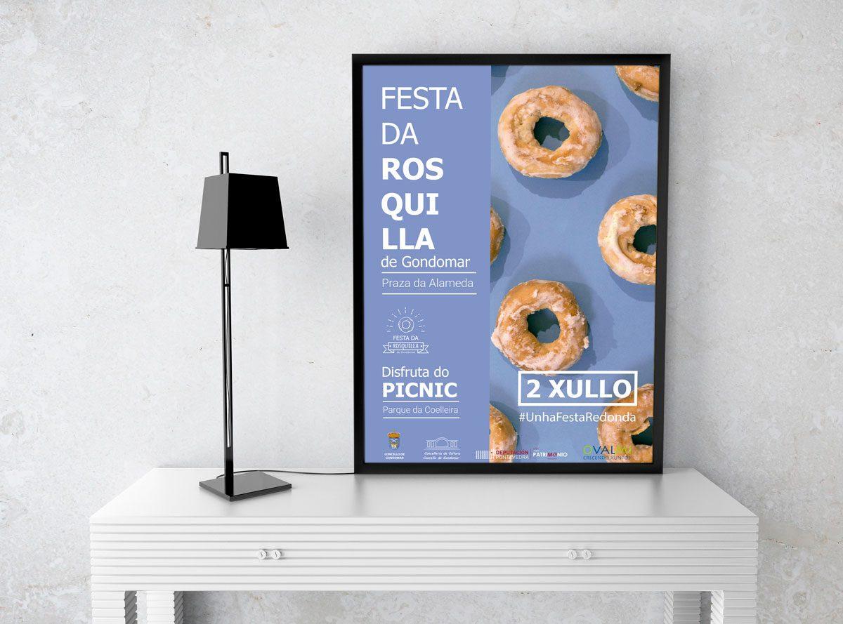 Concello de Gondomar - Fiesta da Rosquilla 2017 (Cartel)