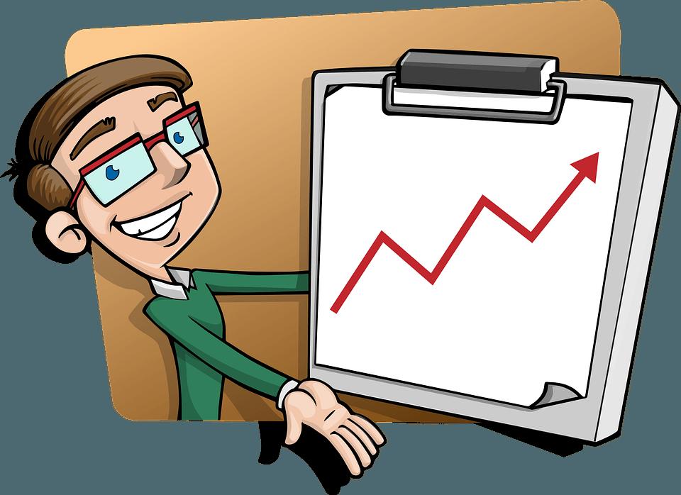 El crecimiento de un producto en su ciclo de vida