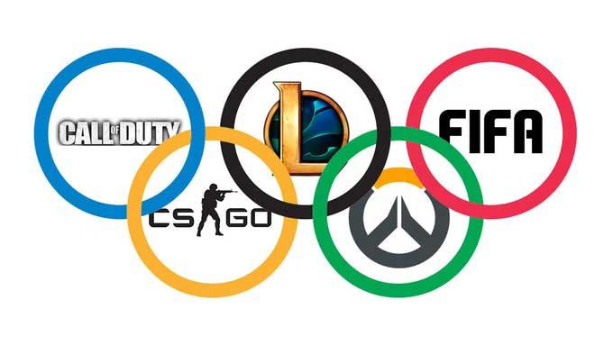 eSports como los juegos olímpicos