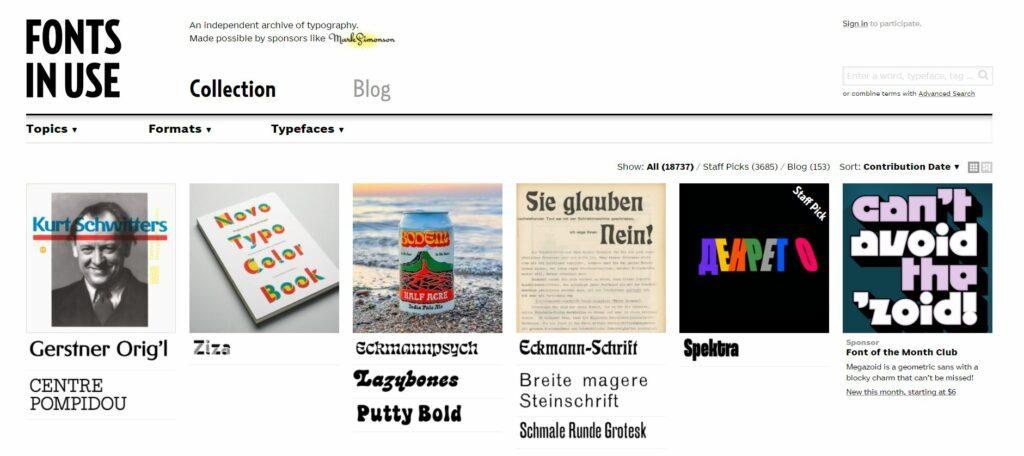 Fontsinuse, nuestra web favorita para combinar tipografías