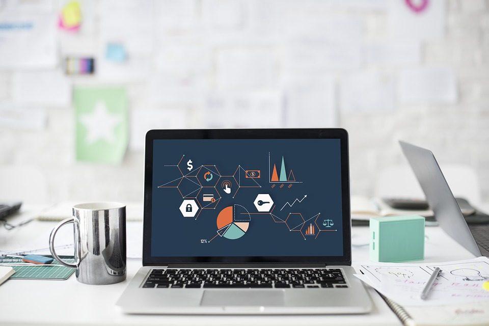 Ilustración en pantalla de PC